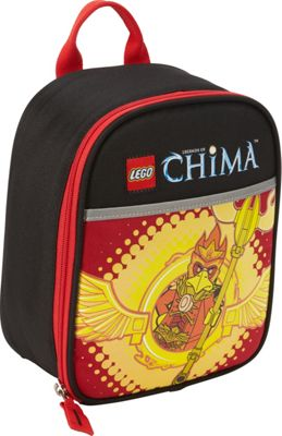 LEGO LEGO Chima Master of Fire Vertical Lunch Black - LEGO Travel Coolers