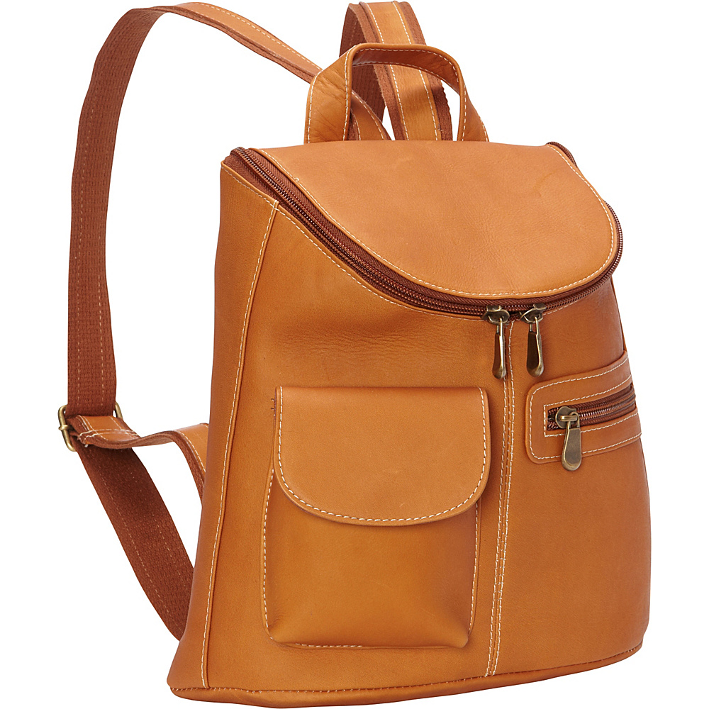 Le Donne Leather Lafayette Classic Backpack Tan - Le Donne Leather Leather Handbags - Handbags, Leather Handbags