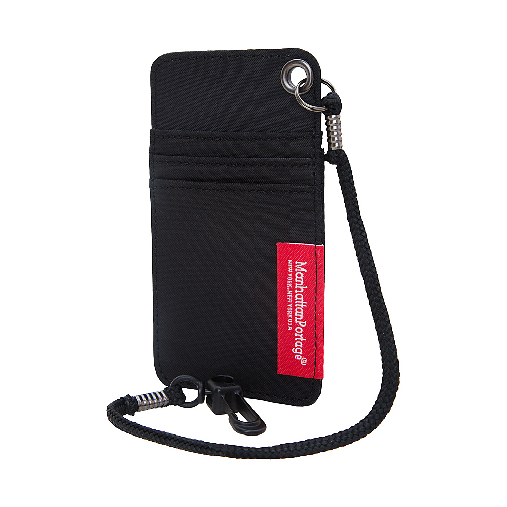 Manhattan Portage City Tech ID Case Black - Manhattan Portage Luggage Accessories - Travel Accessories, Luggage Accessories
