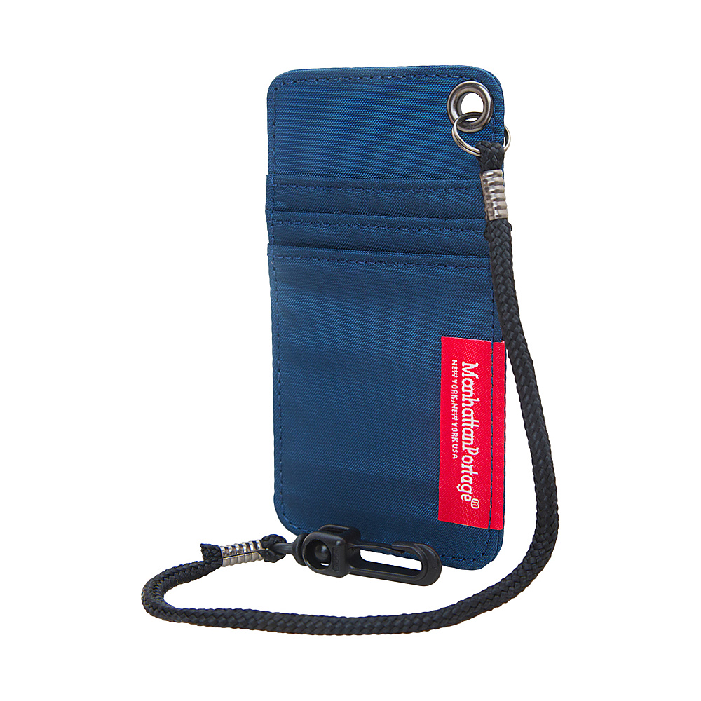 Manhattan Portage City Tech ID Case Navy Manhattan Portage Luggage Accessories