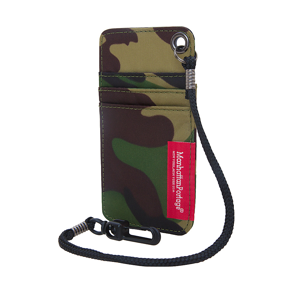 Manhattan Portage City Tech ID Case Camouflage Manhattan Portage Luggage Accessories