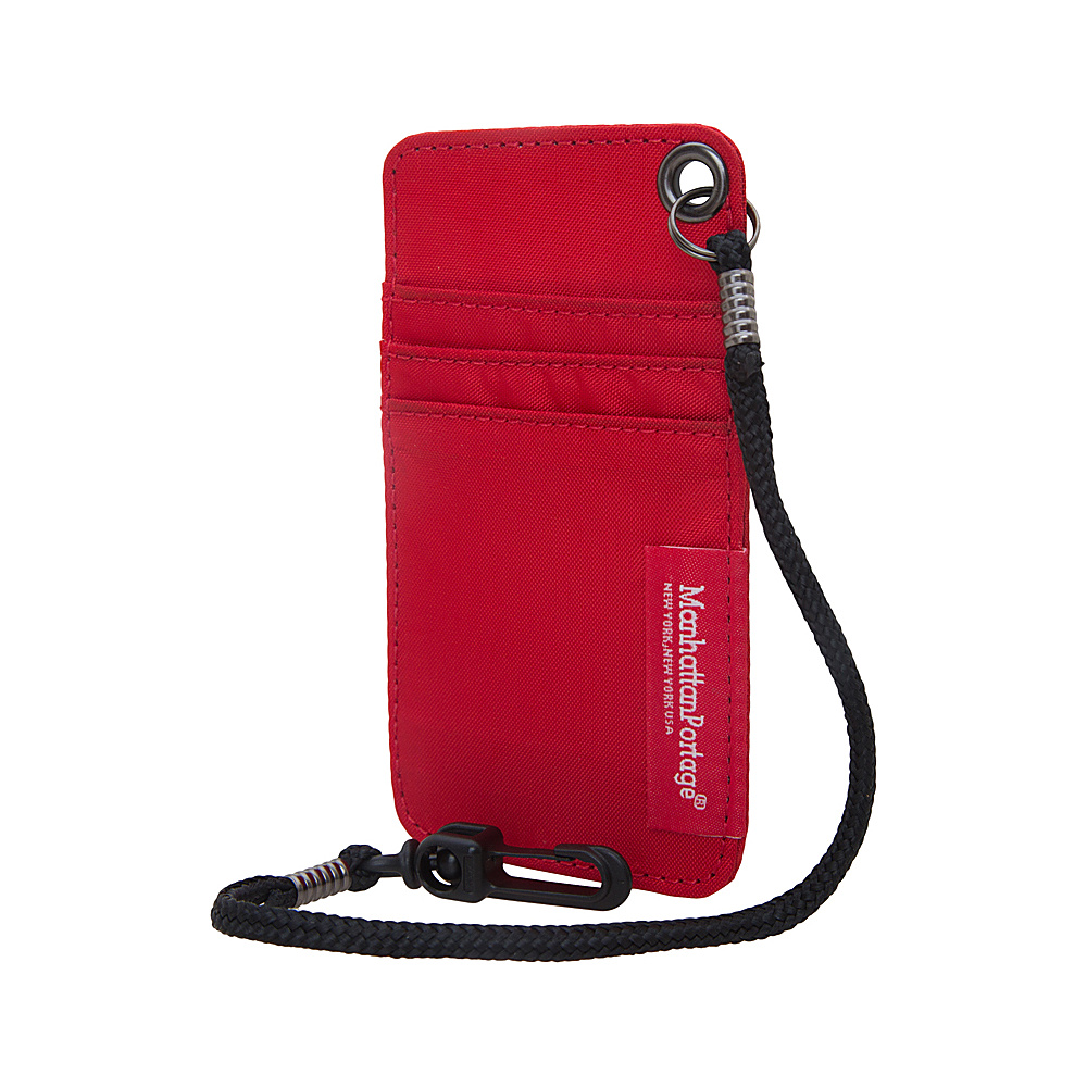 Manhattan Portage City Tech ID Case Red Manhattan Portage Luggage Accessories