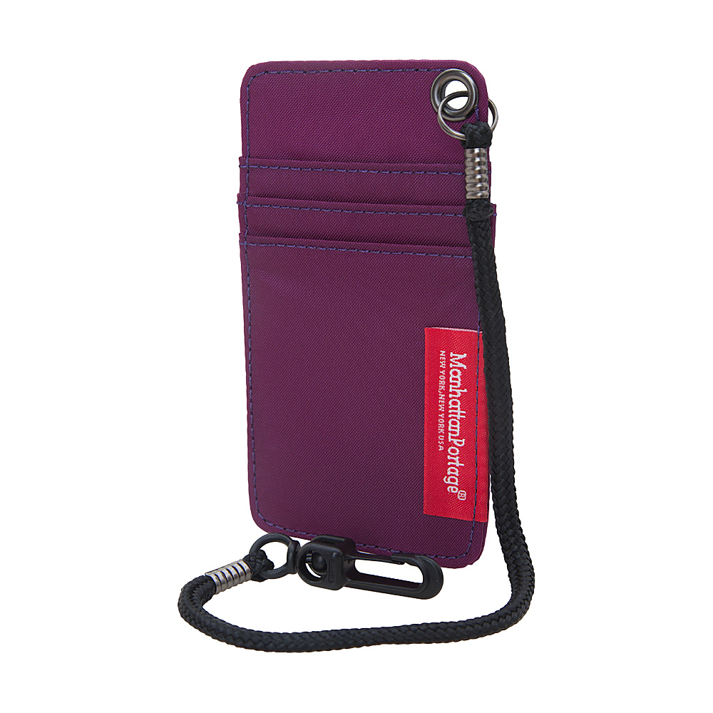 Manhattan Portage City Tech ID Case Purple Manhattan Portage Luggage Accessories