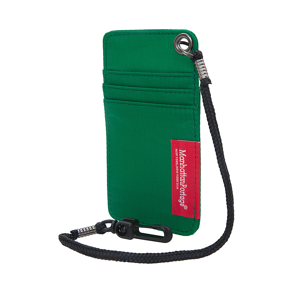 Manhattan Portage City Tech ID Case Green Manhattan Portage Luggage Accessories