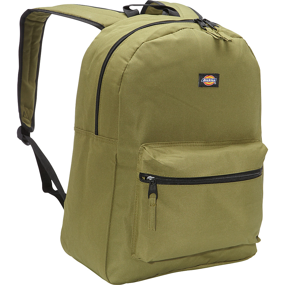 Dickies Student Backpack Olive Rip Stop Dickies Everyday Backpacks