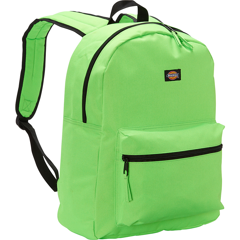 Dickies Student Backpack Neon Green Dickies Everyday Backpacks