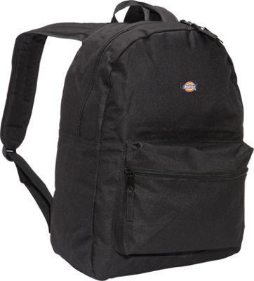 Dickies Student Backpack Black - Dickies Everyday Backpacks