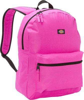 Dickies Student Backpack Neon Raspberry - Dickies Everyday Backpacks