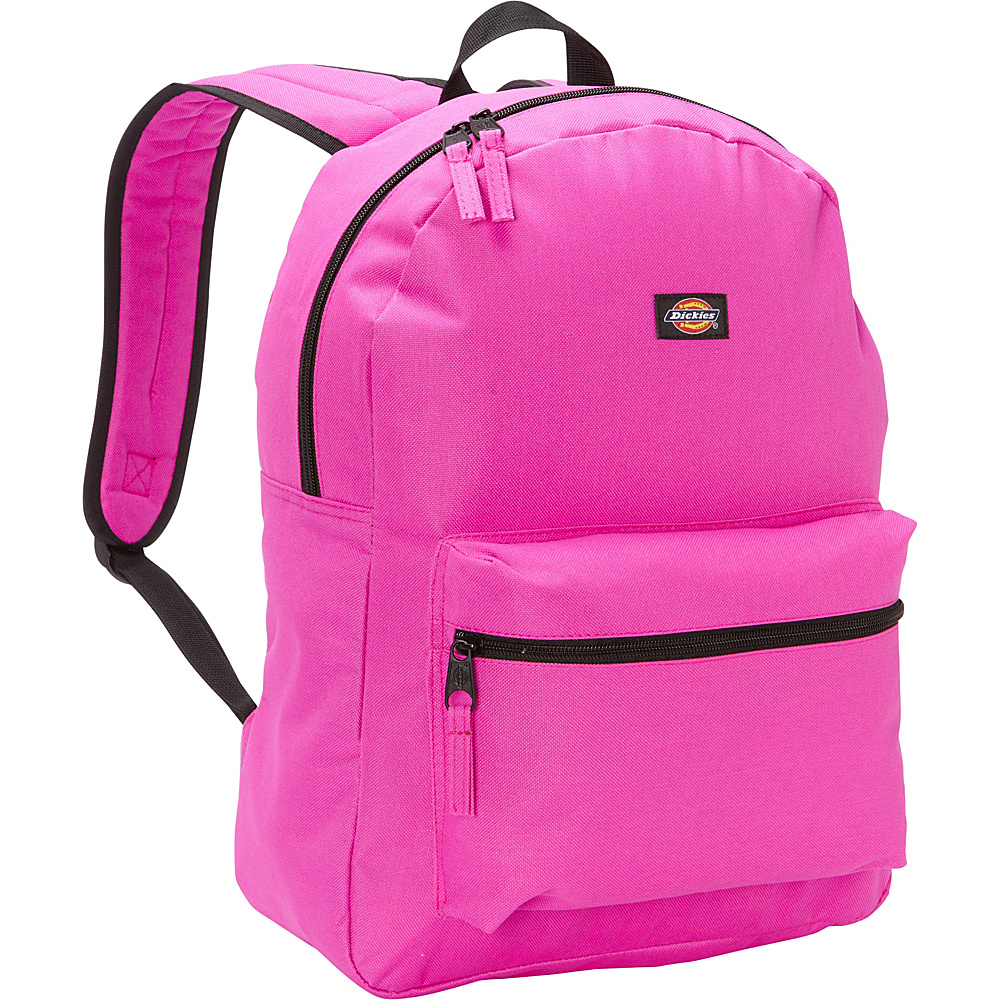 Dickies Student Backpack Neon Raspberry Dickies Everyday Backpacks