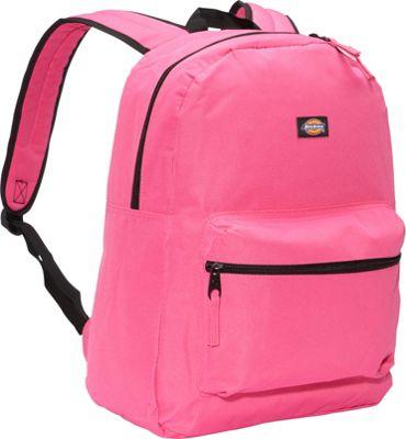 Dickies Student Backpack Shocking Pink Ripstop - Dickies Everyday Backpacks