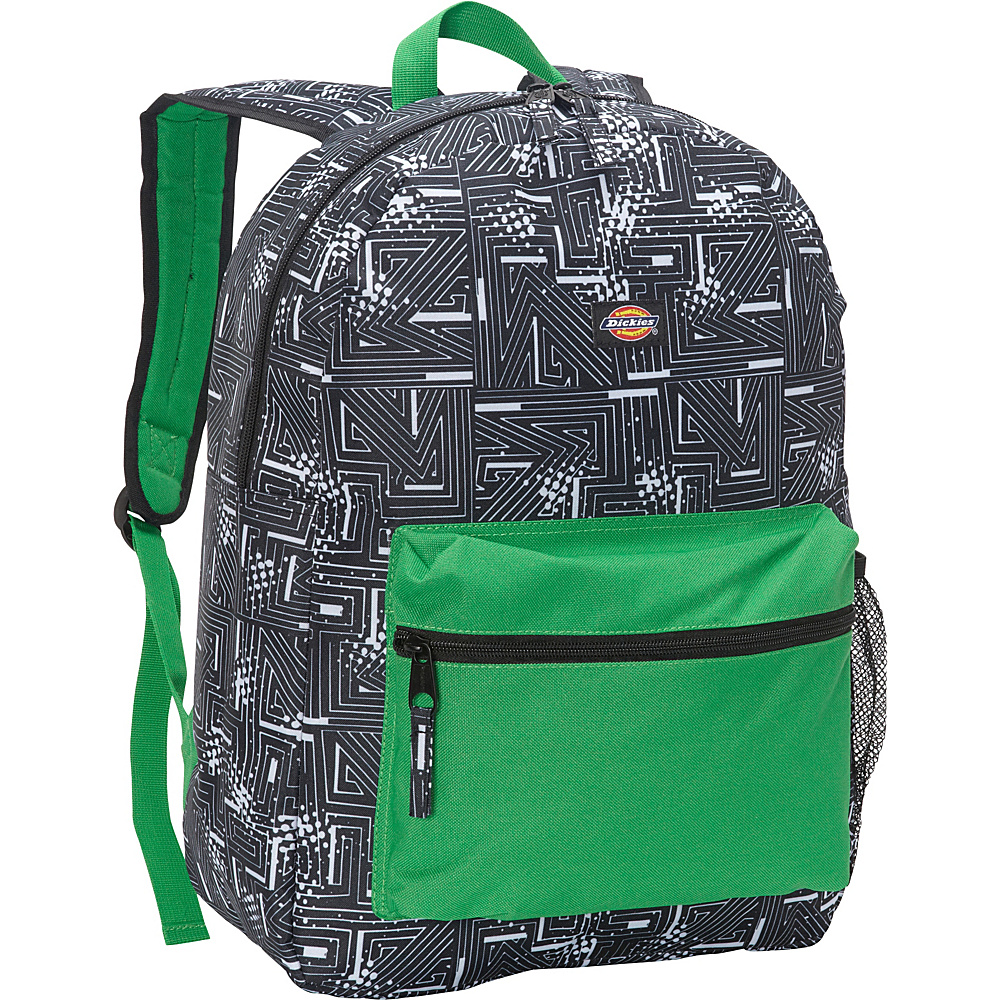 Dickies Student Backpack Black White Abstract Dickies Everyday Backpacks