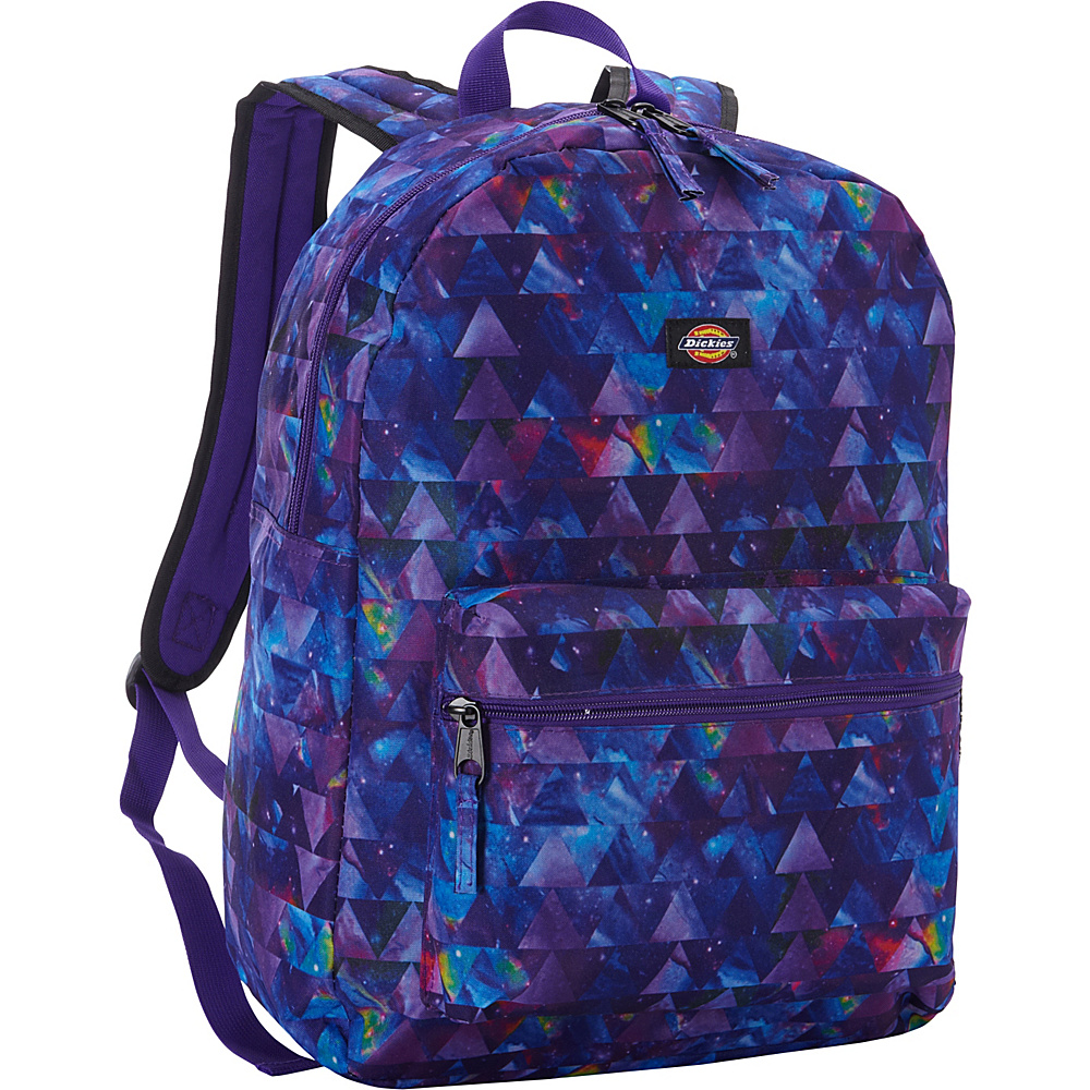 Dickies Student Backpack Galaxy Triangles Print Dickies Everyday Backpacks