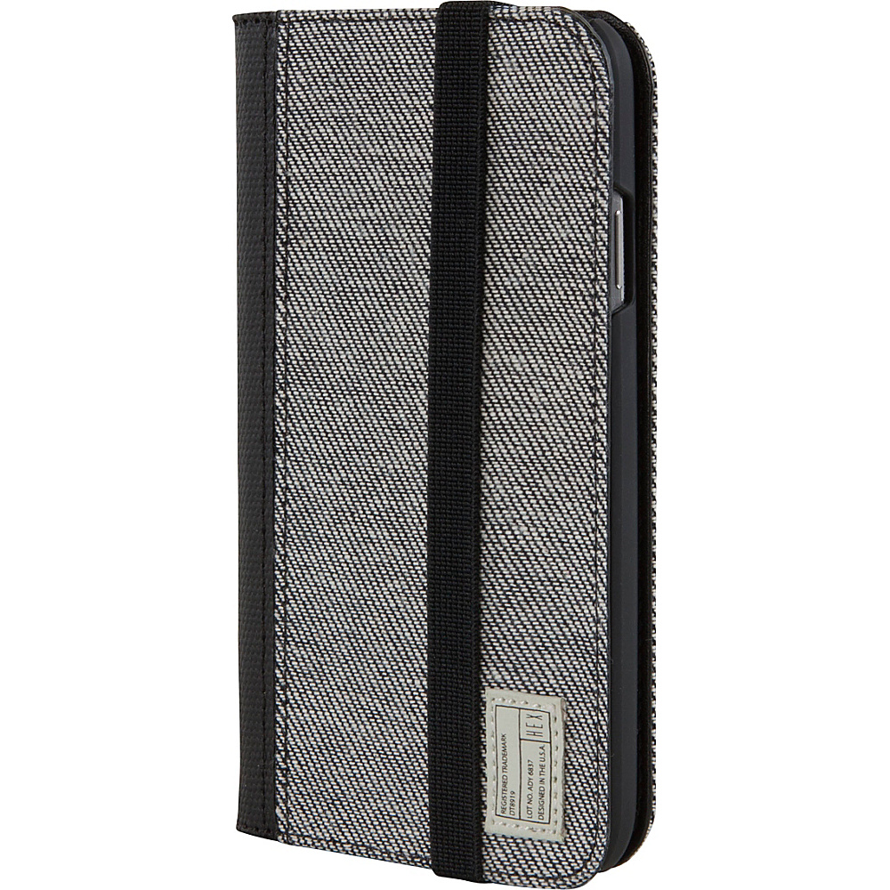 HEX Galaxy S4 Icon Wallet Grey Denim HEX Electronic Cases