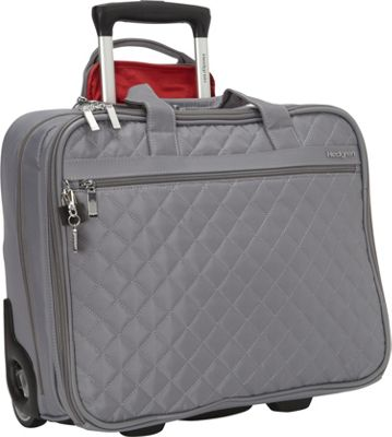 Hedgren Cindy Rolling Business Tote Mouse Grey - Hedgren Wheeled Business Cases