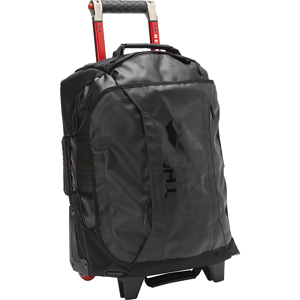 "The North Face Rolling Thunder - 19"" Carry-On Wheeled Upright TNF Black - The North Face Softside Carry-On"
