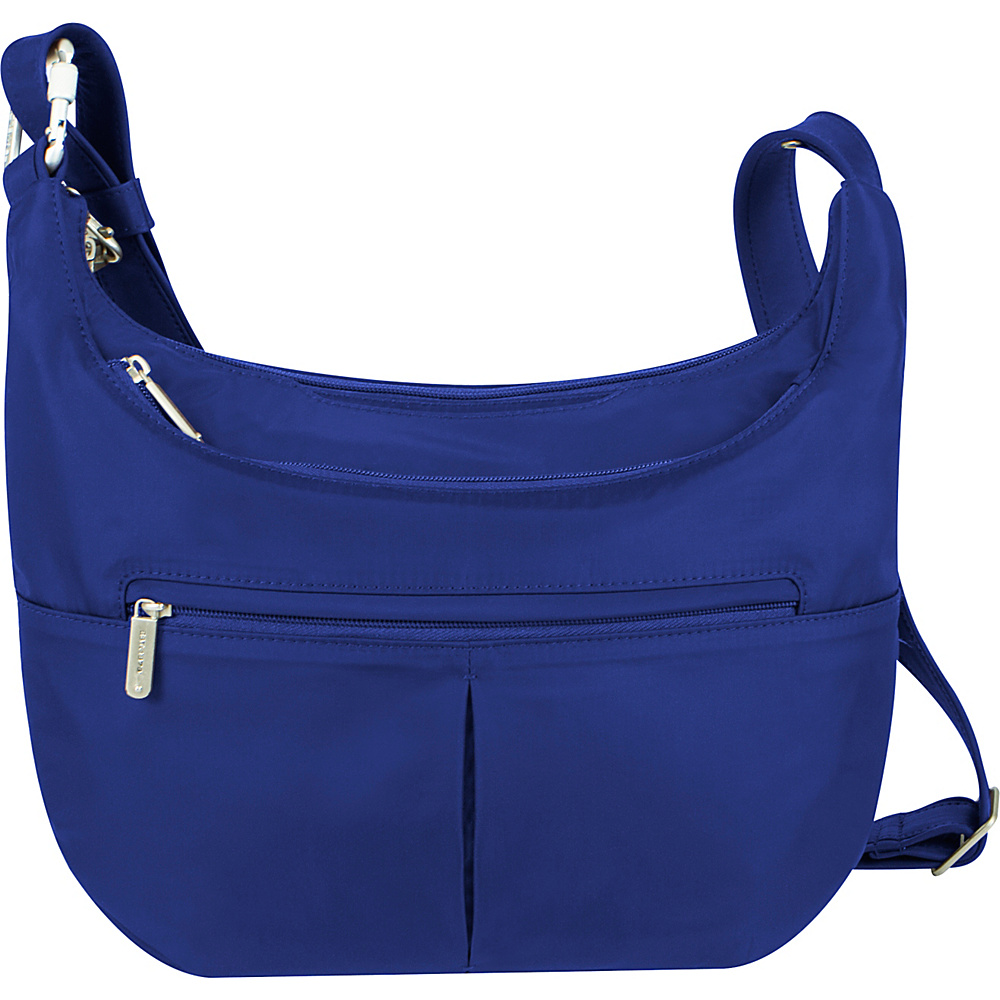 Travelon Anti-Theft Classic Light Slouch Hobo Cobalt/Turquoise - Travelon Fabric Handbags