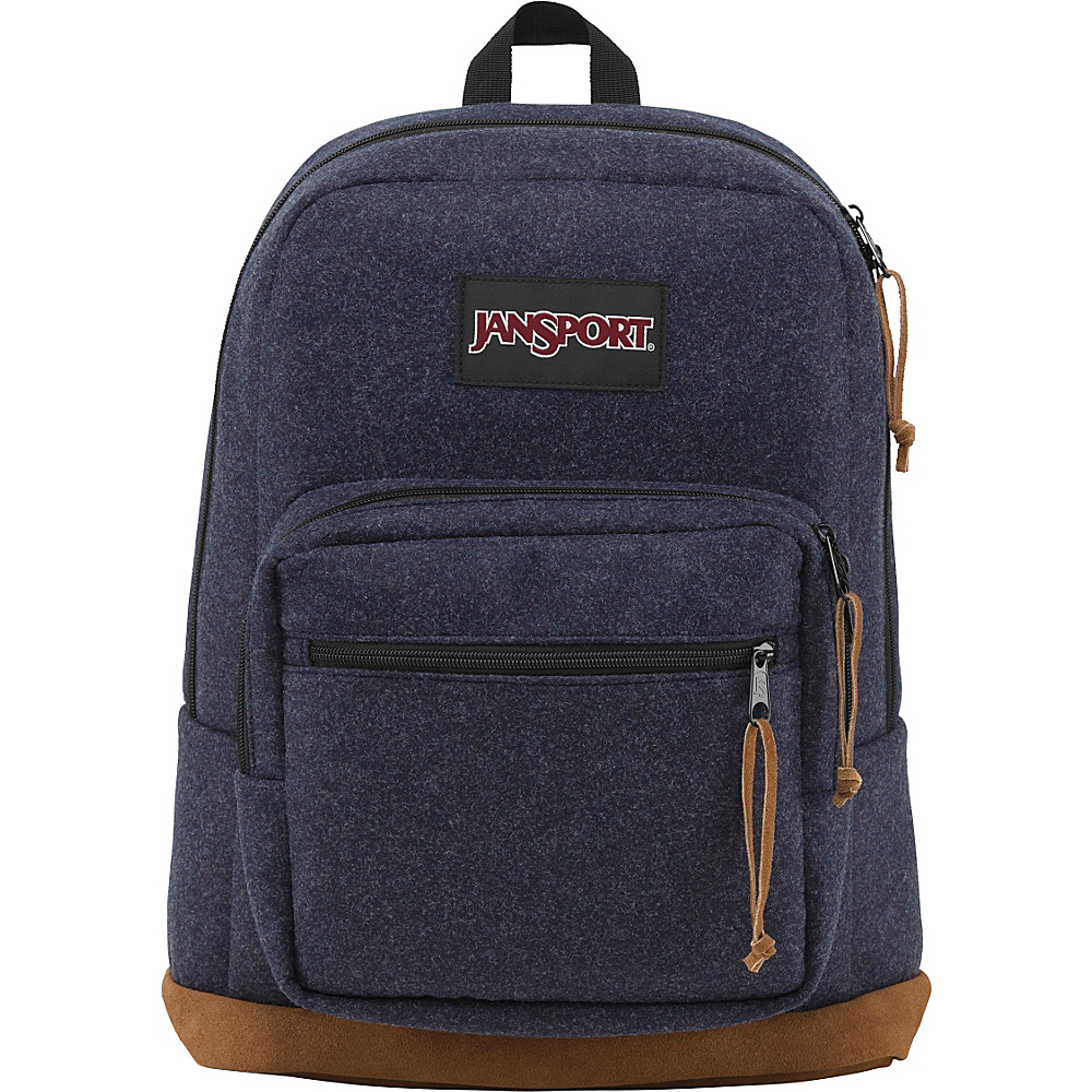 JanSport Right Pack Digital Edition Navy Blue Felt - JanSport Laptop Backpacks - Backpacks, Laptop Backpacks
