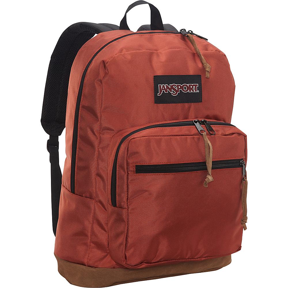 JanSport Right Pack Digital Edition Burnt Henna Ballistic Nylon - JanSport Laptop Backpacks - Backpacks, Laptop Backpacks