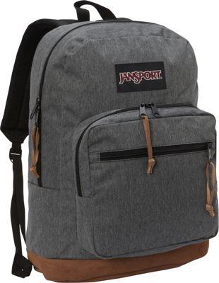 JanSport Right Pack Digital Edition Black White Herringbone - JanSport Business & Laptop Backpacks