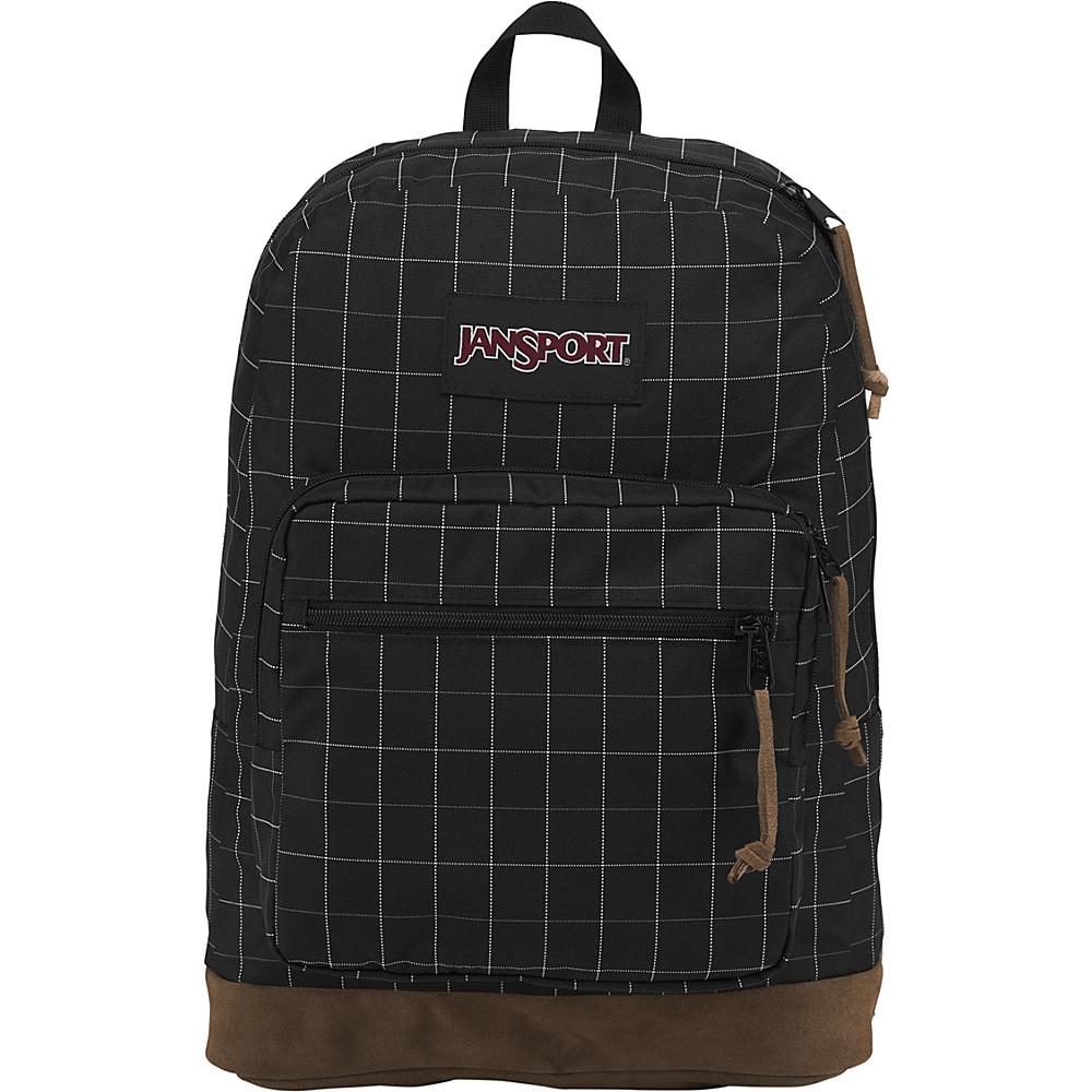 JanSport Right Pack Digital Edition Black Reflective Grid - JanSport Business & Laptop Backpacks