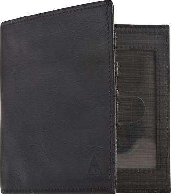 Image of Allett Leather RFID Security Wallet Black - Allett Mens Wallets