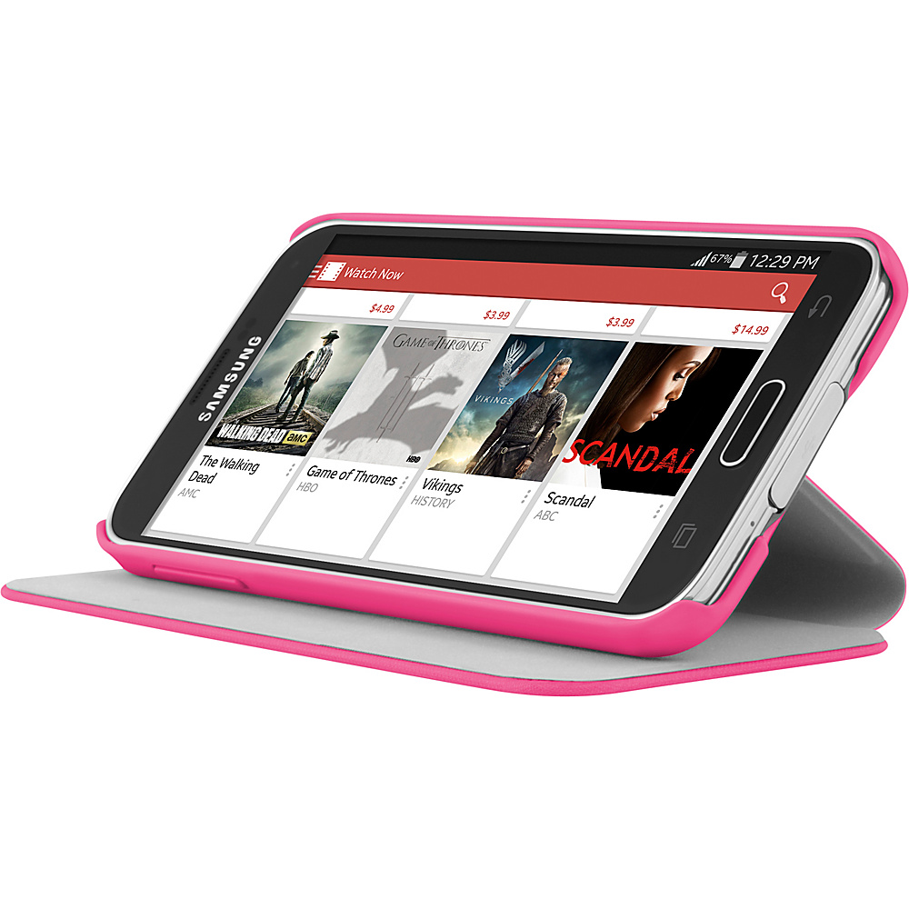 Incipio PlexFolio for Samsung Galaxy S5 Pink/Pink - Incipio Electronic Cases - Technology, Electronic Cases