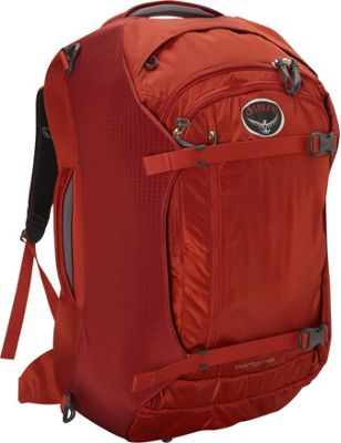 Osprey Porter 65 Travel Backpack Hoodoo Red- DISCONTINUED - Osprey Travel Backpacks