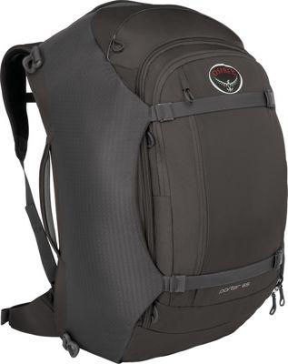 Osprey Porter 65 Travel Backpack Black- DISCONTINUED - Osprey Travel Backpacks