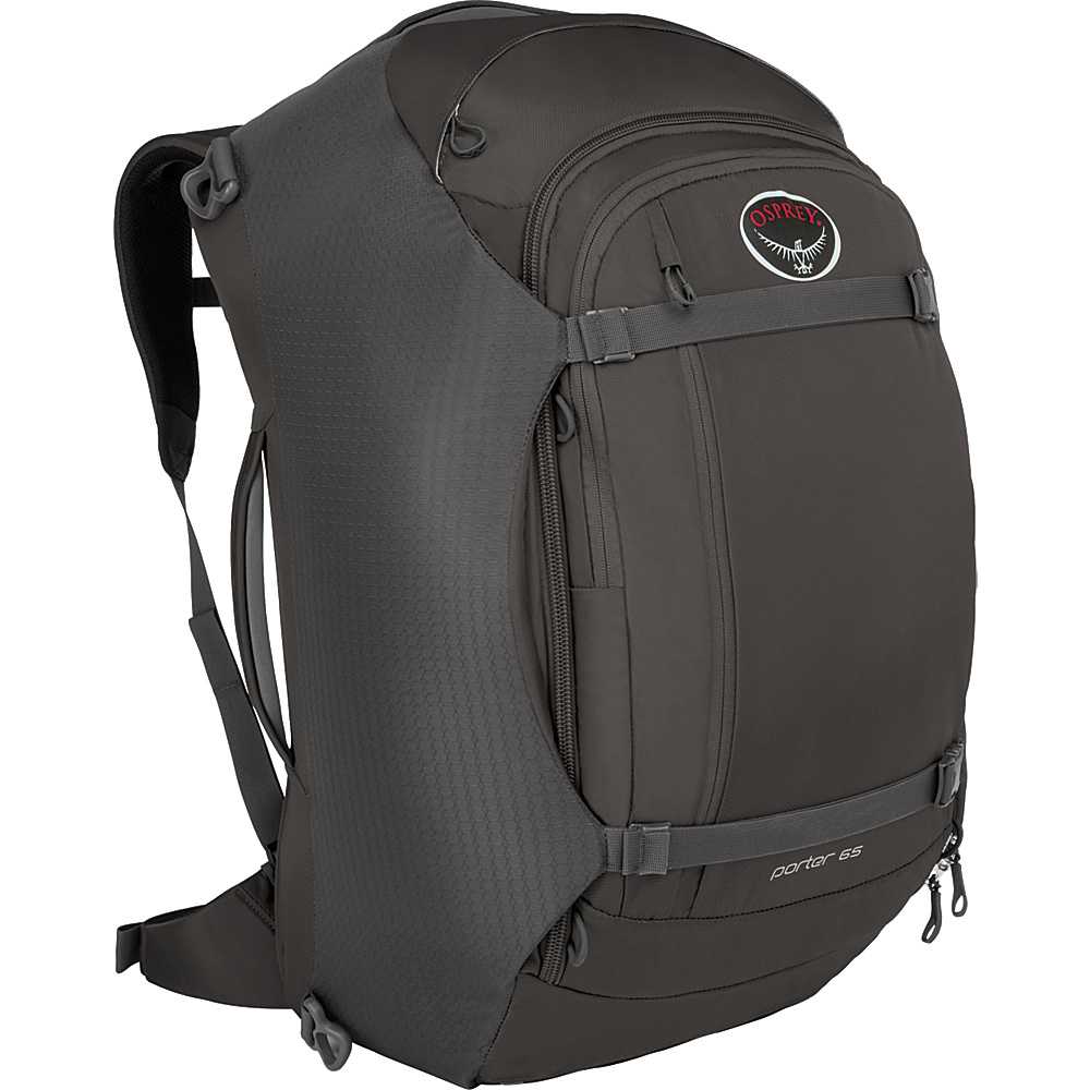 Osprey Porter 65 Travel Backpack Black Osprey Travel Backpacks