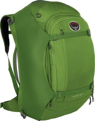 Osprey Porter 65 Travel Backpack Nitro Green- DISCONTINUED - Osprey Travel Backpacks