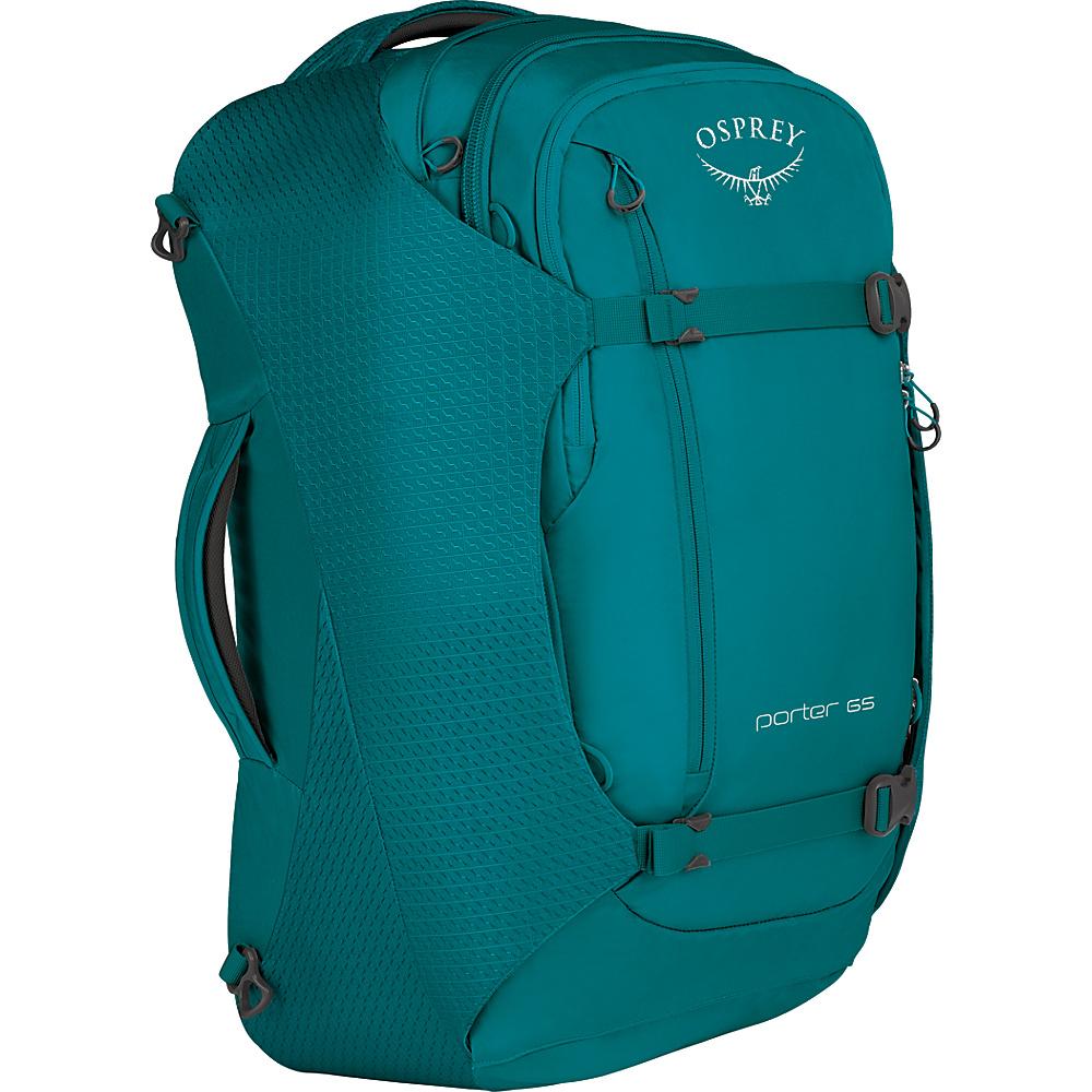 Osprey Porter 65 Travel Backpack Mineral Teal - Osprey Travel Backpacks - Backpacks, Travel Backpacks