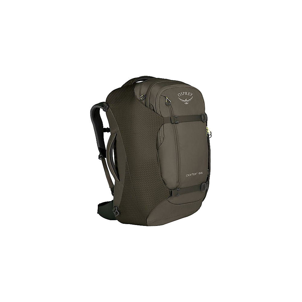 Osprey Porter 65 Travel Backpack Castle Grey - Osprey Travel Backpacks - Backpacks, Travel Backpacks
