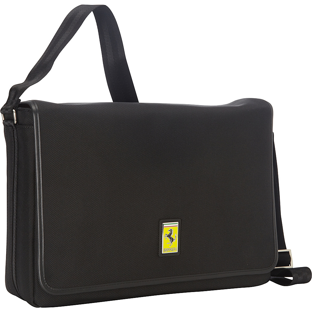 Ferrari Luxury Collection Utility Messenger Blacks - Ferrari Luxury Collection Messenger Bags