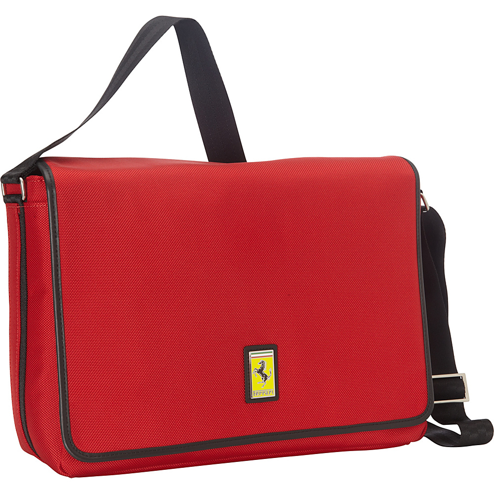 Ferrari Luxury Collection Utility Messenger Reds - Ferrari Luxury Collection Messenger Bags