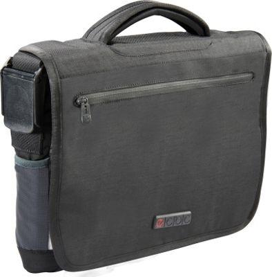 ecbc Zeus Messenger Black - ecbc Messenger Bags