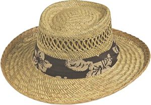 Gold Coast Rush Gambler Band Hat Natural - Gold Coast Hats/Gloves/Scarves