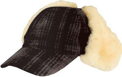 Woolrich Heritage Plaid Cap Hat Brown/Black-Medium - Woolrich Hats/Gloves/Scarves
