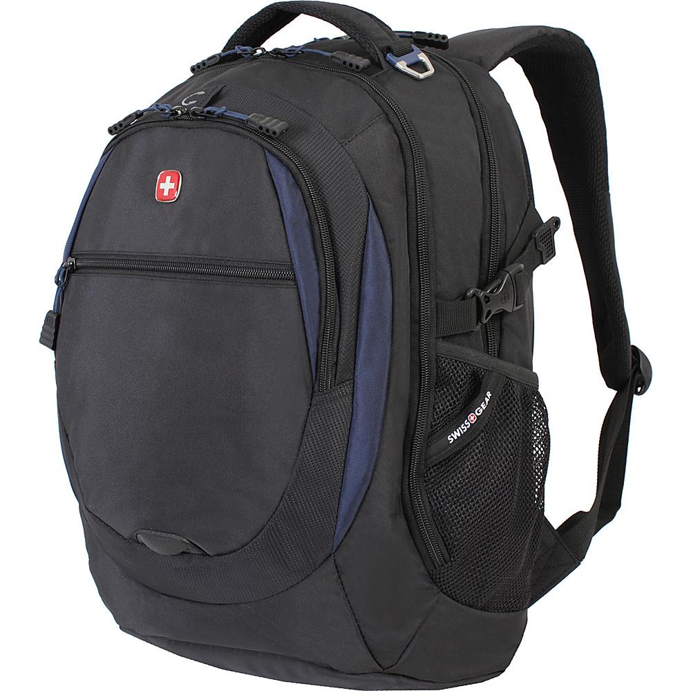 SwissGear Travel Gear Laptop Backpack 6655 Black Navy SwissGear Travel Gear Business Laptop Backpacks