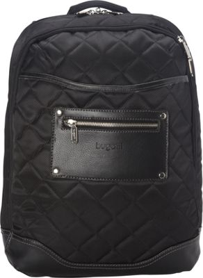 Bugatti Vail Backpack Black - Bugatti Business & Laptop Backpacks