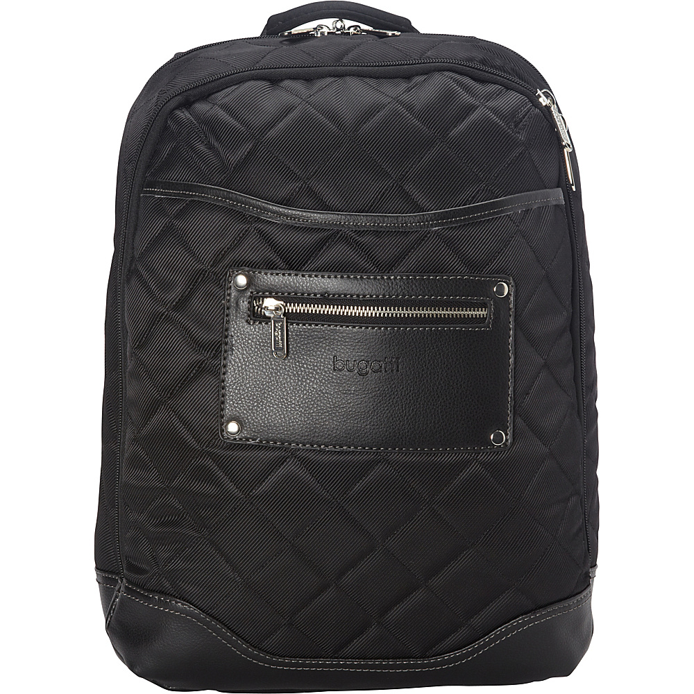 Bugatti Vail Backpack Black Bugatti Business Laptop Backpacks