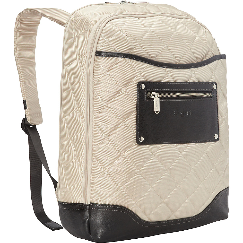 Bugatti Vail Backpack Beige Bugatti Business Laptop Backpacks