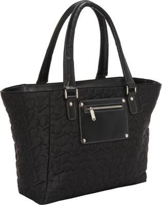 Bugatti Vail Ladies 15 inch Laptop Tote Black - Bugatti Women's Business Bags