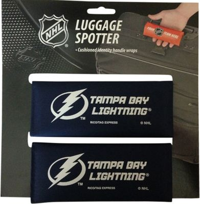Luggage Spotters NHL Tampa Bay Lightning Luggage Spotter Blue - Luggage Spotters Luggage Accessories