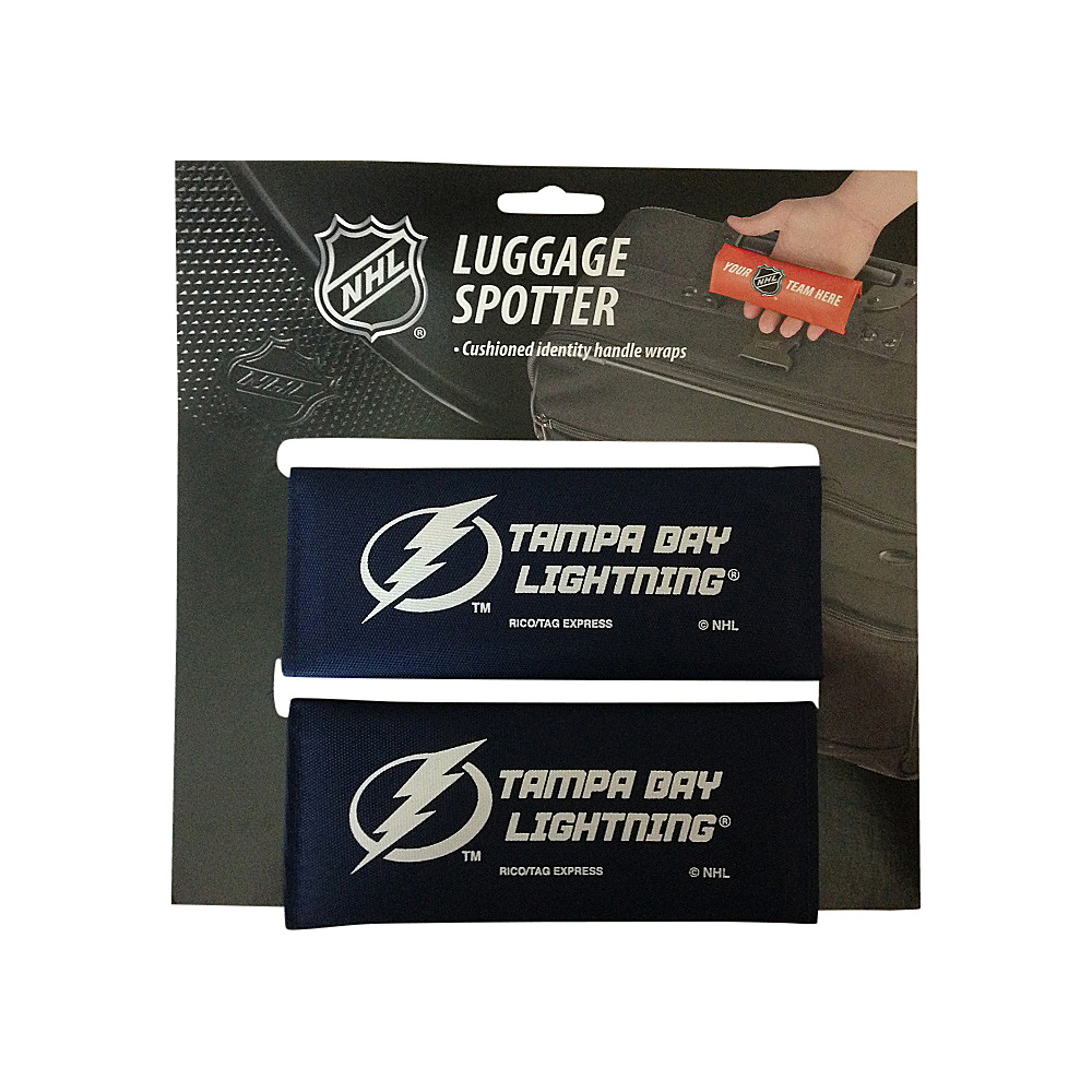 Luggage Spotters NHL Tampa Bay Lightning Luggage Spotter Blue Luggage Spotters Luggage Accessories