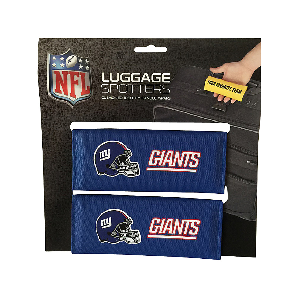 Luggage Spotters NFL New York Giants Luggage Spotter Blue Luggage Spotters Luggage Accessories