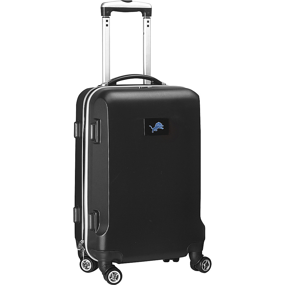 Denco Sports Luggage NFL 20 Domestic Carry-On Black Detroit Lions - Denco Sports Luggage Hardside Carry-On - Luggage, Hardside Carry-On