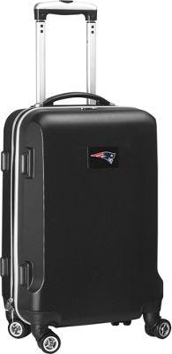 "Denco Sports Luggage NFL 20"""" Domestic Carry-On Black New England Patriots - Denco Sports Luggage Kids' Luggage"