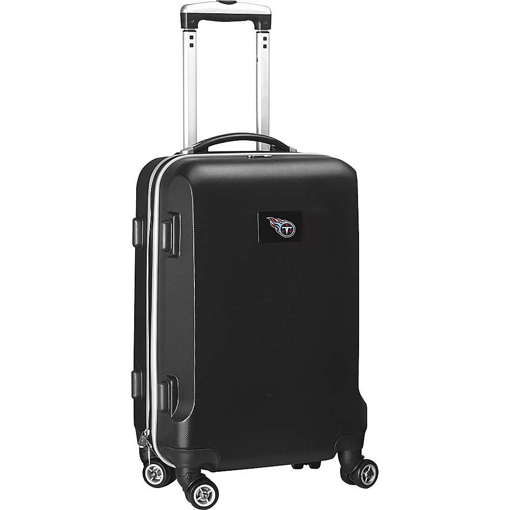 Denco Sports Luggage NFL 20 Domestic Carry-On Black Tennessee Titans - Denco Sports Luggage Hardside Carry-On - Luggage, Hardside Carry-On