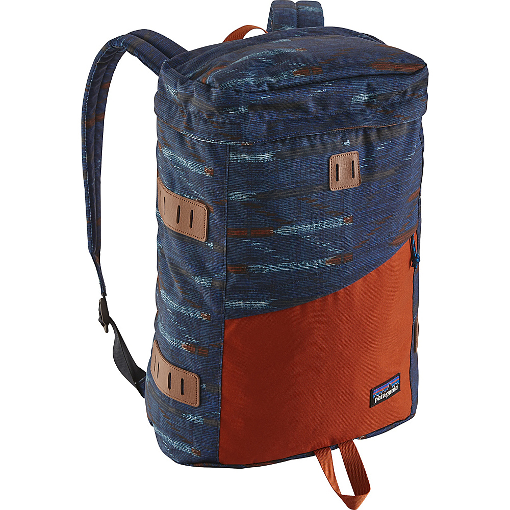 Patagonia Toromiro Pack 22L Elwha Ikat: Navy Blue - Patagonia Business & Laptop Backpacks - Backpacks, Business & Laptop Backpacks
