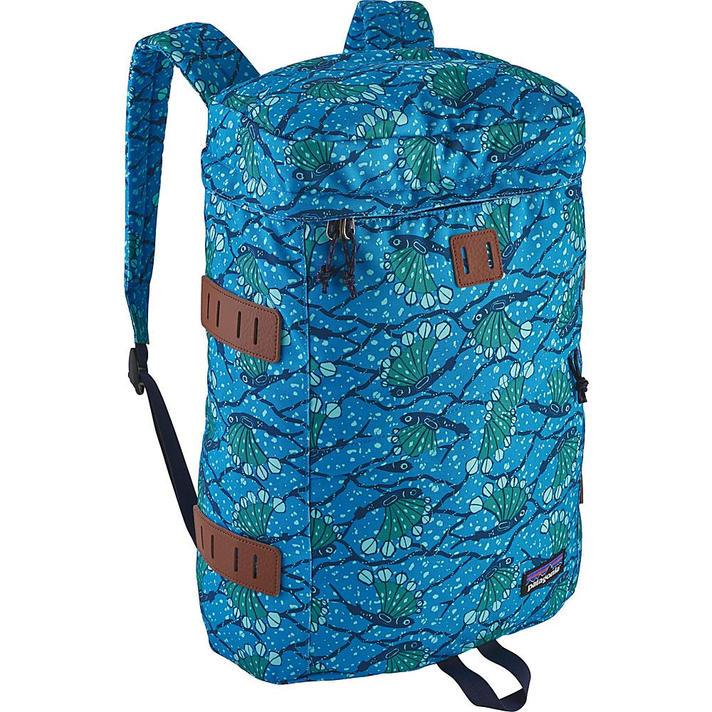 Patagonia Toromiro Pack 22L Hexy Fish: Radar Blue - Patagonia Business & Laptop Backpacks - Backpacks, Business & Laptop Backpacks